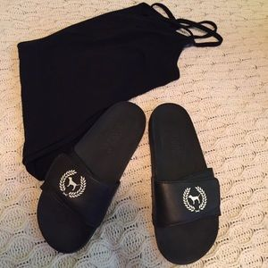 PINK Victoria's Secret Shoes - PINK Sandals
